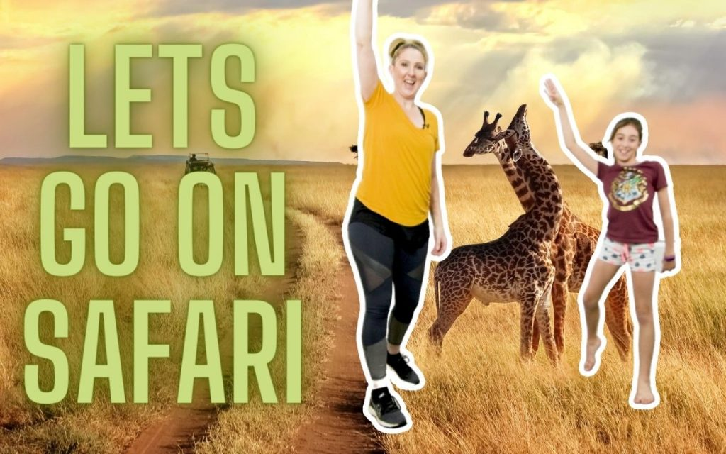 Safari Themed Free Dance Class for Toddlers & Preschoolers