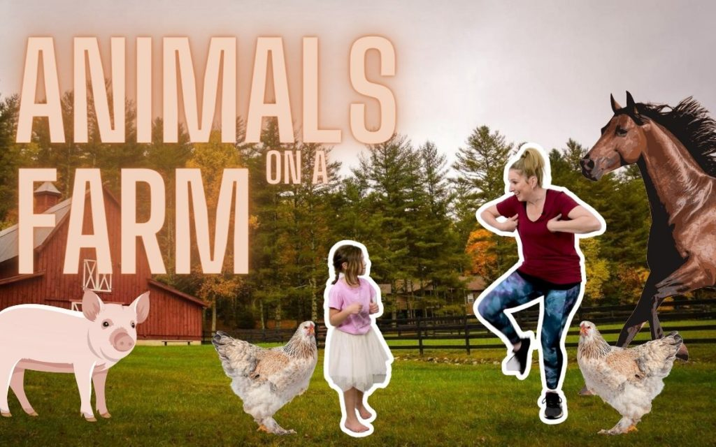 Farm Animal Themed Free Dance Class for Toddlers & Preschoolers
