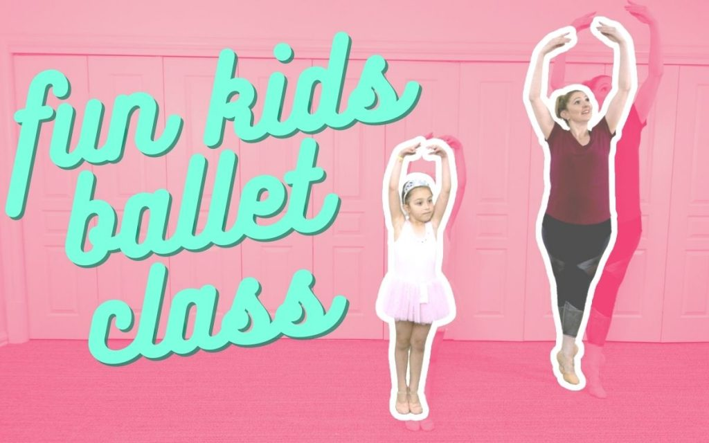 Free & Fun Online Creative Ballet Class for Toddlers & Preschoolers