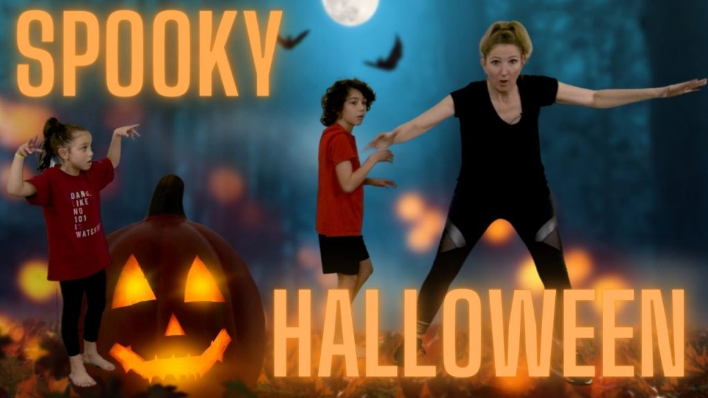 Halloween Dance Tutorial for Kid & Toddler with Learning Activities