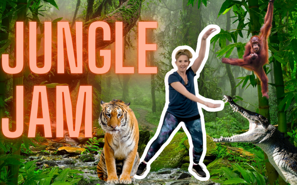 Move Like a Jungle Animal Activity & Dance Class for Kids & Toddlers