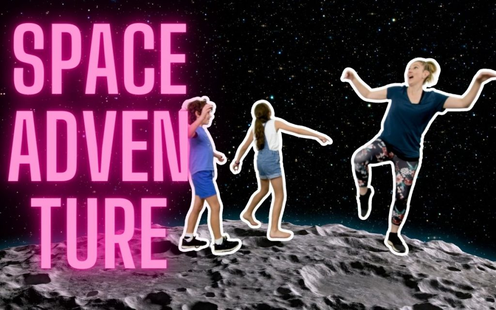 Teach Kids to learn about Space in a Free Dance and Movement Activity