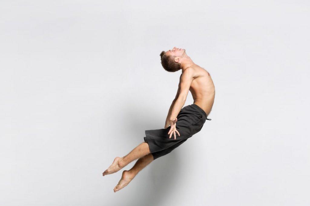 Modern Dance Jump Man